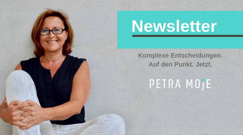 Newsletteranmeldung Petra Moje