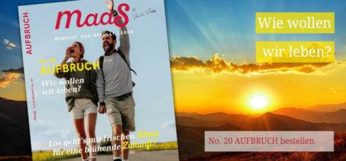 Banner Maas Magazin